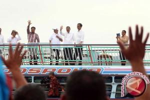 Presiden Jokowi Kunjungi Pulau Samosir