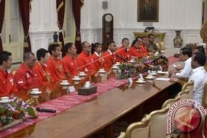 Presiden Berterima Kasih Kepada Atlet Olimpiade Indonesia