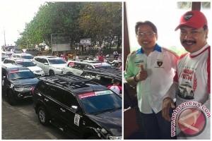 Dexlite Rambah Komunitas Pajero di Bali