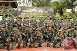 Patroli Patok Bersama Indonesia-Malaysia