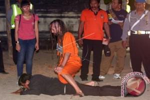 Polresta Denpasar Gelar Rekonstruksi Libatkan Dua WNA