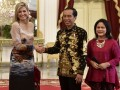Presiden Menerima Kunjungan Ratu Maxima