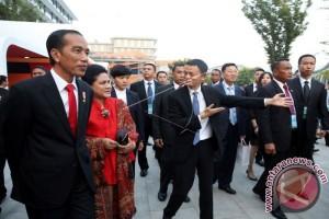 Presiden Joko Widodo Kunjungi Kampus Alibaba
