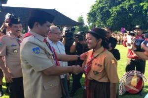 Gubernur Pastika Dorong Kegiatan Pramuka Lebih Inovatif
