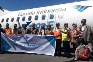 Garuda Indonesia Resmikan Rute Baru Maumere-Denpasar