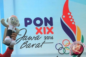 Perolehan Medali Sementara PON XIX