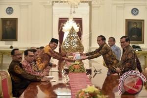 Presiden Terima Laporan Hasil Pemeriksaan BPK
