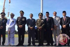 Kodam IX/Udayana Parade Peringatan HUT Ke-71 TNI