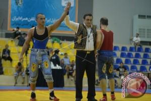 Pegulat Indonesia Juarai Kejuaraan Gulat Tradisional Iran di TAFISA