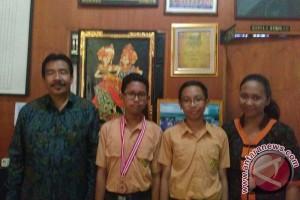 I Kadek Hari Kesuma Siswa SMP Negeri 3 Denpasar Berprestasi