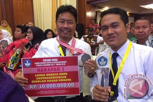 SD Widiatmika Jimbaran Juara Harapan 1 Nasional