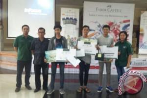 ISI-Faber Castell Gelar Lomba Gambar Art dan Graphic di Denpasar