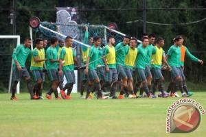 Latihan Terakhir Timnas Indonesia
