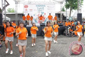 HUT Ke-14 Harris Hotel Dengan Fun Bike