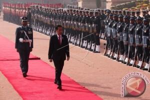 Presiden Jokowi di India