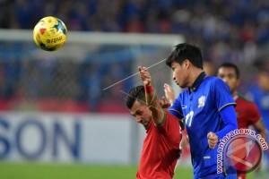 Babak Pertama, Indonesia Tertinggal 0-1 dari Thailand