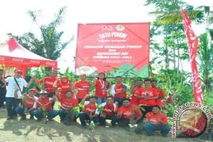 Coca-Cola Amatil Indonesia Lanjutkan Komitmen Peduli Lingkungan melalui Aksi Tanam Pohon