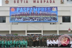 Presiden Kunjungi Markas Komando Paspampres