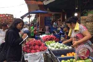 Harga Buah Di Pasar Kumbasari Denpasar Stabil