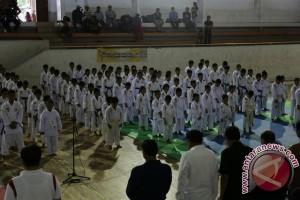 Wabup Gianyar Buka Kejuaraan Karate Inkai Antar Pelajar Se-Kabupaten Gianyar