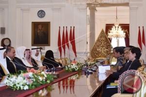 Presiden Terima Ketua Majelis Syura Arab Saudi