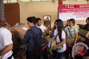 DPD KNPI Gianyar Peduli Kintamani, Serahkan Sejumlah Bantuan Sosial