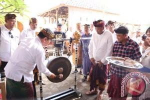 Wabup Gianyar Hadiri Turnamen Ceki Desa Pakraman Kutri