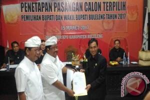 KPU Buleleng Tetapkan PASS Bupati Terpilih