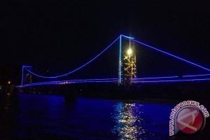 Jembatan Kuning Jadi Ikon Pariwisata Nusa Penida