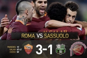 Roma Tundukkan Sassuolo 3-1