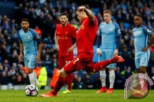 Imbang 1-1, Manchester City dan Liverpool Tak Ubah Posisi Klasemen