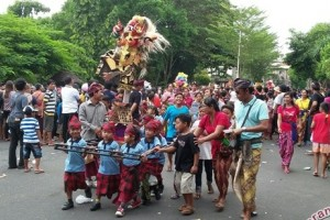 Pemkab Jembrana Gelar Parade Ogoh-Ogoh Mini