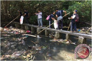 Dishut-FPMB Ajak Masyarakat Jaga Kebersihan Tahura Bali
