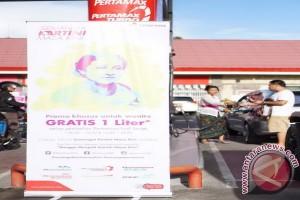 Peringati Kartini, Pertamina Bagi Bensin Gratis Khusus Wanita