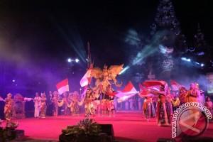 """Sendratari Kolosal """"Nusantara Bangkit"""" Ingatkan Kemajemukan NKRI"""