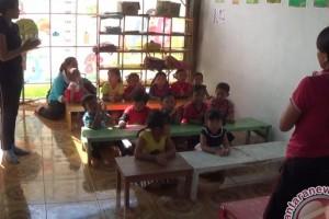MUrid TK Di Desa Kekurangan Fasilitas