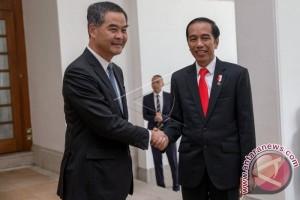 Presiden Joko Widodo di Hong Kong