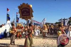 250 Seniman ISI Denpasar Meriahkan Bahari Festival (video)