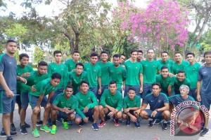 Timnas U-22 Berlatih Jelang Uji Coba (Video)