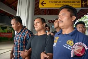Polisi Denpasar Bekuk Tahanan Kabur Asal Peru