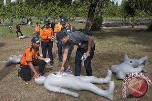 Latihan Penanganan Medis Korban Musibah