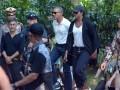 Obama Berkunjung ke Tirta Empul