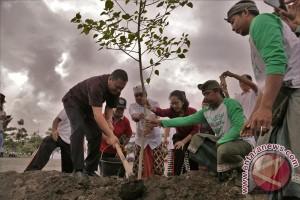Masyarakat Ubud Perluas Kawasan Terbuka Hijau