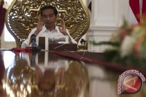 Presiden Selipkan Pesan di Sela Kuis Berhadiah Sepeda