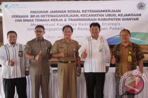 BPJS Ketenagakerjaan Gianyar Gandeng Desa Tingkatkan Peserta