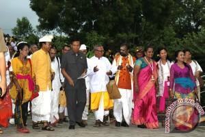 Tokoh Hindu Dunia Kunjungi SMAN Bali Mandara