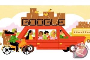 Google Doodle Tampilkan Tradisi Mudik Lebaran Khas Indonesia