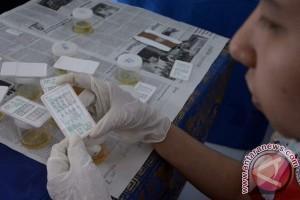 Anggota DPRD Buleleng Menjalani Tes Urine