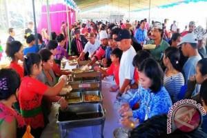 44.000 Porsi Makanan Meriahkan HUT Ke-377 Amlapura