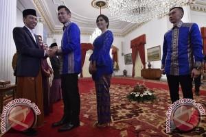 Agus dan Ibas Yudhoyono Silaturahim dengan Presiden Jokowi